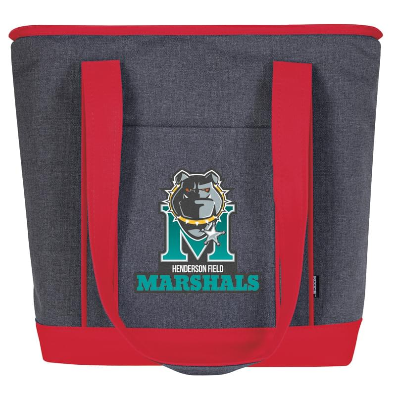 KOOZIE® Two Tone Lunch Time Kooler Tote