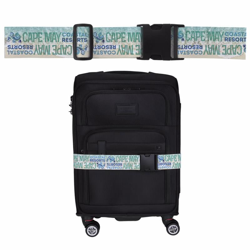 4 Color Process Luggage Belt