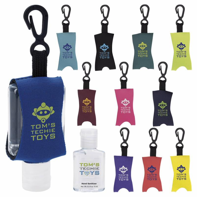 .5 oz. Custom Label Hand Sanitizer with Leash
