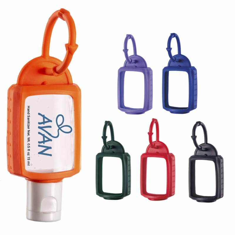 .5 oz. Hand Sanitizer with Silicone Leash