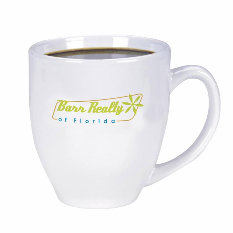 Shiny Bistro Mug - 15 oz. (white)