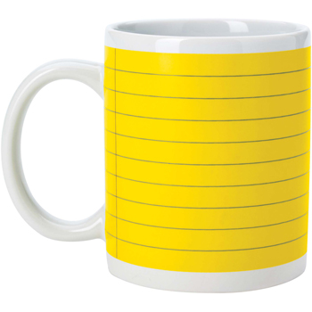 Notepad Mug - 11 oz.