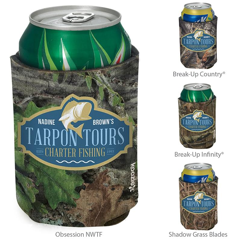 Mossy Oak britePix KOOZIE® Can Kooler