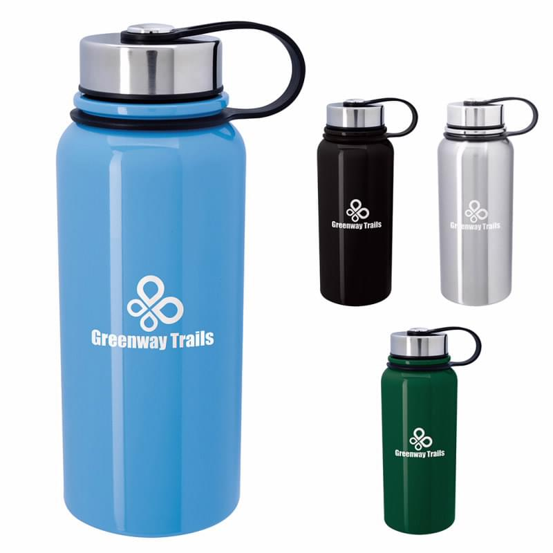 Mountain Vacuum Stainless Steel Bottle - 34 oz.