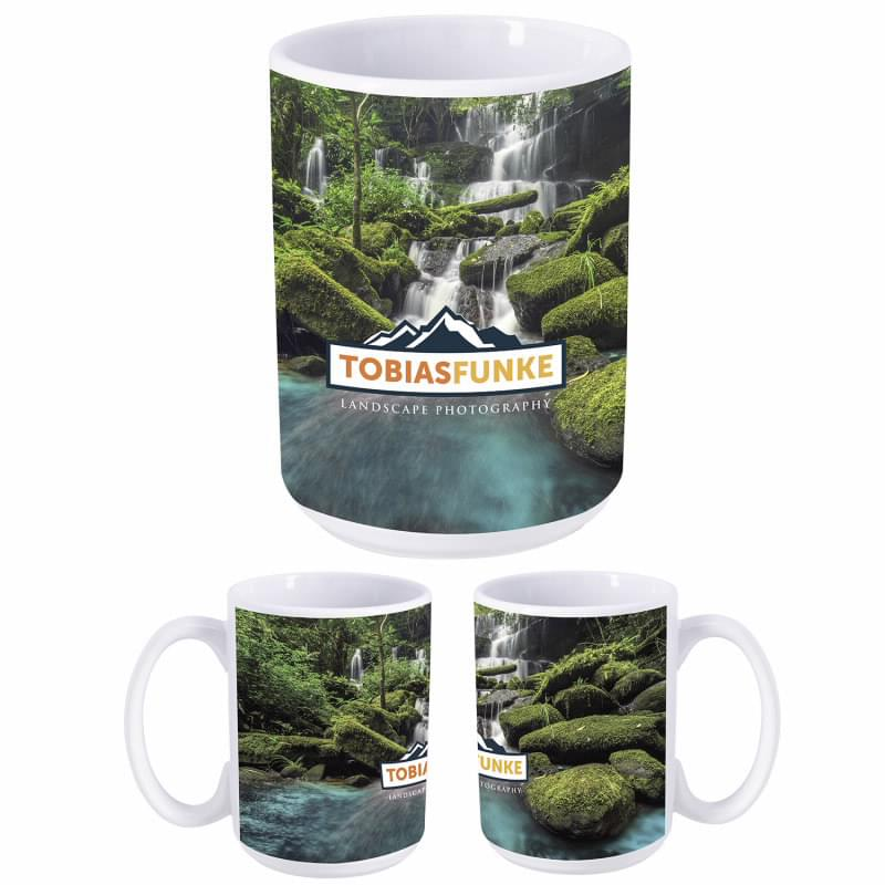 Dye Sublimation Mug - 15 oz.
