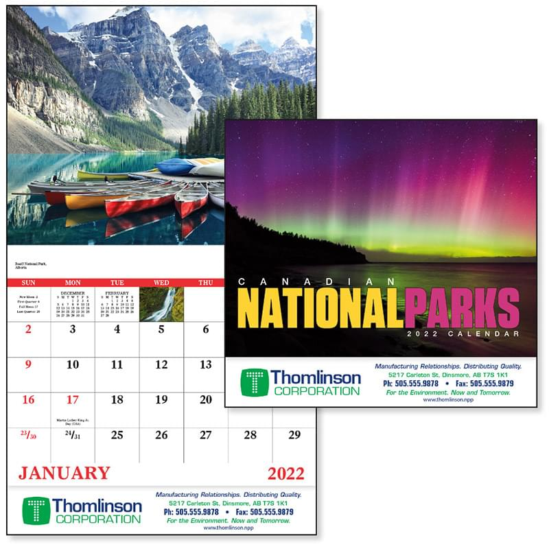 Canadian National Parks - Stapled