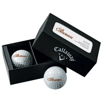 Callaway 2-Ball Business Card Box