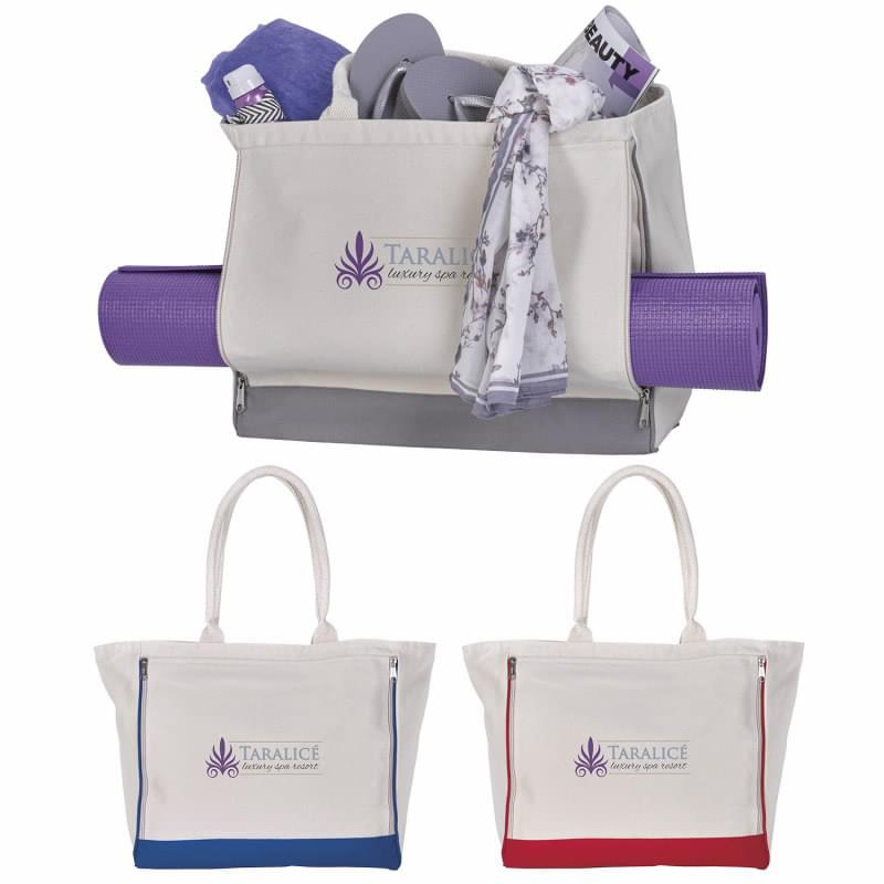 Yoga Retreat Cotton Tote