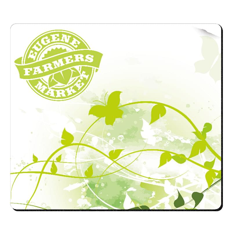 "BIC&#174 1/4"" Fabric Surface Mouse Pad (7-1/2"" x 8-1/2"")"