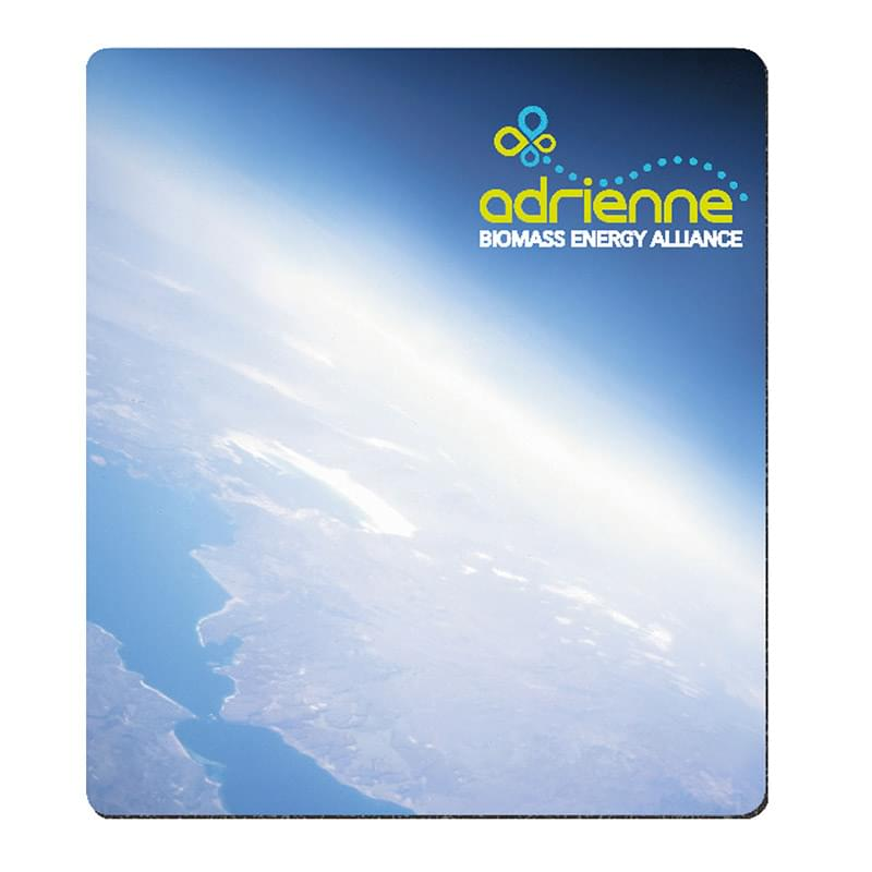 "BIC&#174 1/8"" Firm Surface Mouse Pad (7-1/2"" x 8-1/2"""