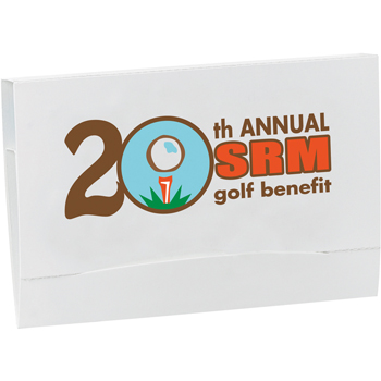 "4-2-1 Golf Tee Packet - Value Pak-2-1/8"" Tees"