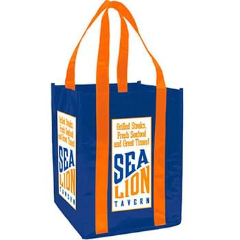 Laminated Non-Woven 4 Bottle Tote Bag