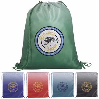Gradient Drawstring Backpack