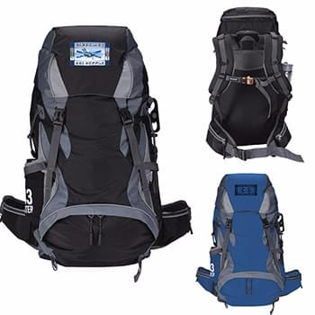 Koozie&#174 Adventure 43L Hiking Backpack