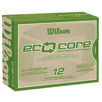 Wilson Eco Core Golf Ball Std Serv