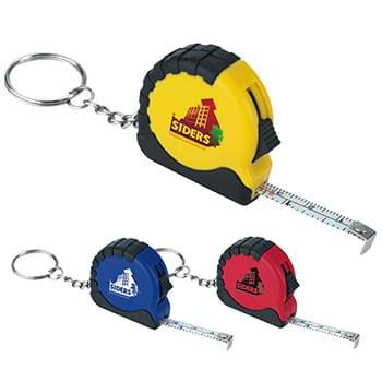 Mini Tape Measure Keychain