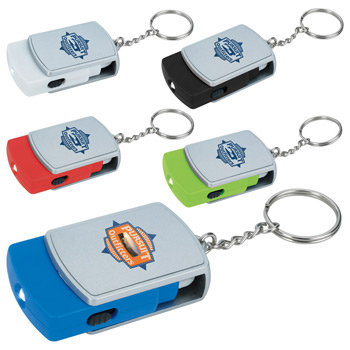 Swivel Tech Keychain