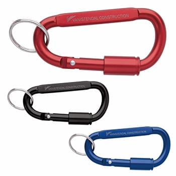 Keyring Carabiner with Lock