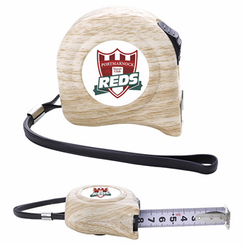 16 ft Wood Pattern Tape Measure with H Hook