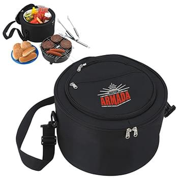 KOOZIE® Portable BBQ with Kooler Bag