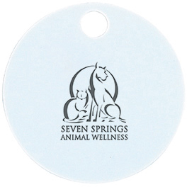 Small Pet ID Tag - Circle