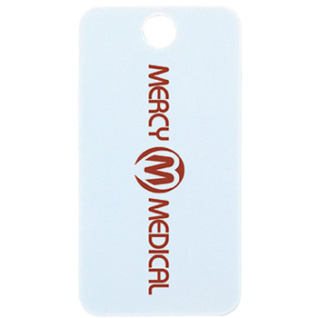 Small Pet ID Tag - Rectangle