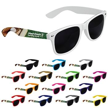 Cool Vibes Dark Lenses Sunglasses - Full Color