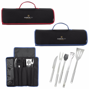 KOOZIE® Kamp 5-piece BBQ Set