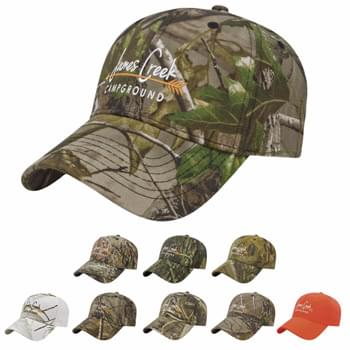 Cap America Camouflage Structured Panel Cap