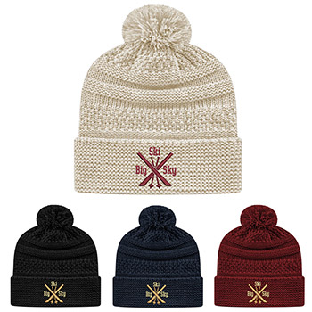 Cap America Cable Knit