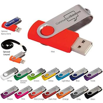 512 MB Folding USB 2.0 Flash Drive