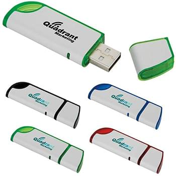 2 GB Slanted USB 2.0 Flash Drive