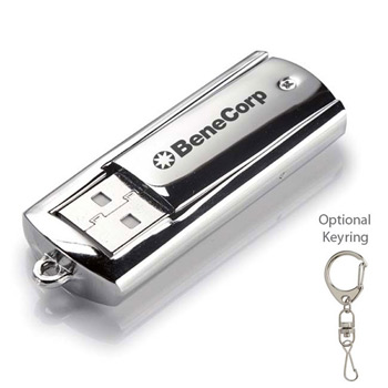1 GB Metal USB 2.0 Flash Drive