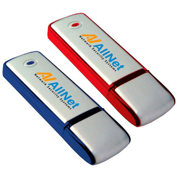 256 MB Square Two-Tone USB 2.0 Flash Drive