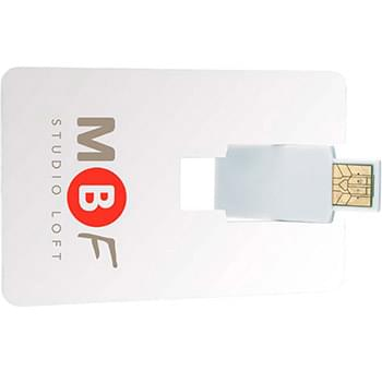 4 GB Flip Card USB 2.0 Flash Drive