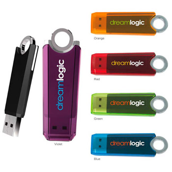 256 MB Ring USB 2.0 Flash Drive