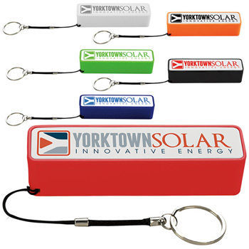 Keychain Power Bank 2000 mAh