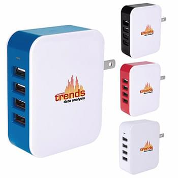 4-Port Wall Adapter