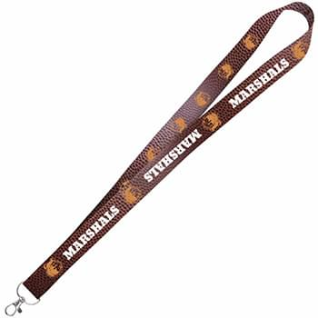 "1"" Satin 4 Color Lanyard"