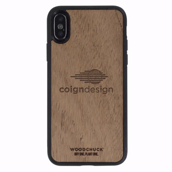 Mahogany Wood Phone Case X