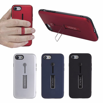 IPHONE 7 / 8 Case with silicone holder and stand