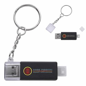 Emergency Keyring Dual Charging Cable