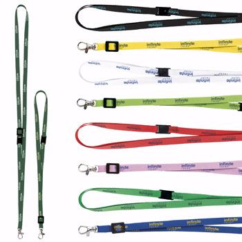 "3/8"" Adjustable Polyester Lanyard"