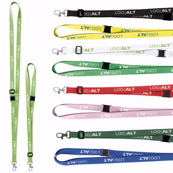 "5/8"" Adjustable Polyester Lanyard"