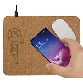 10W Vite Wireless Charging Mousepad and Stand