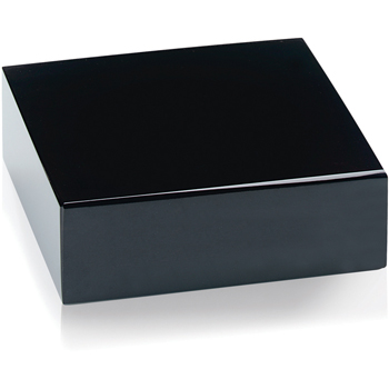 Black Glass Base
