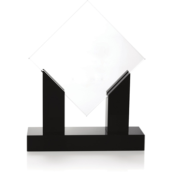 Diamond Jade Award with Black Base
