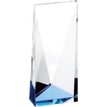 Blue Accent Crystal Tower