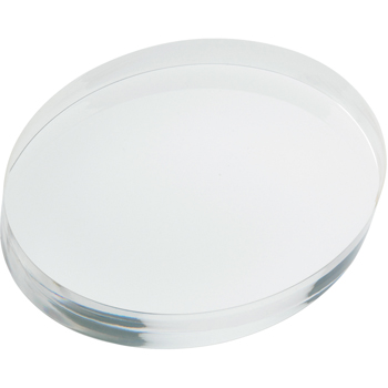 Oval Acrylic Paperweight