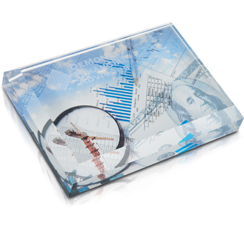 Business Card Paperweight